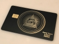 All seeing eye metal credit cards