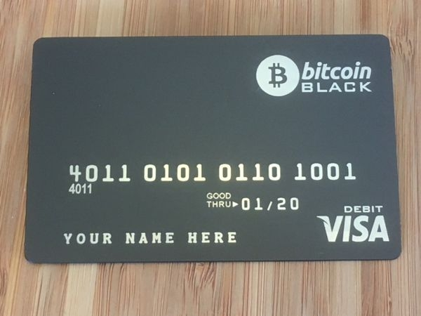 bitcoin metal debit card
