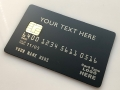 custom metal credit card matte black card