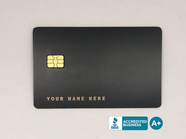 metal credit card template #1