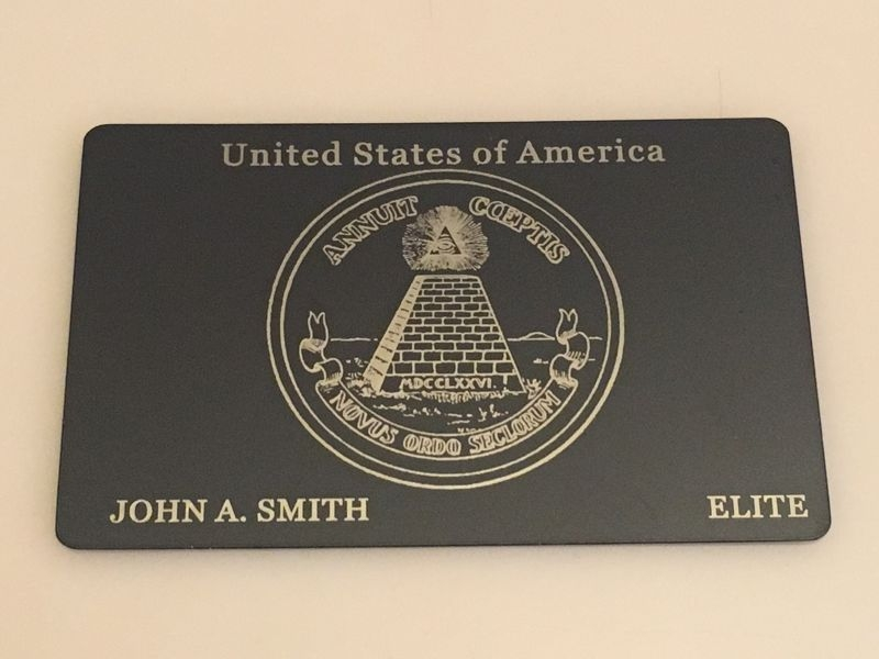 American Express Karte.Custom Metal Credit Cards Turn Your Plastic Into Metal Us Made