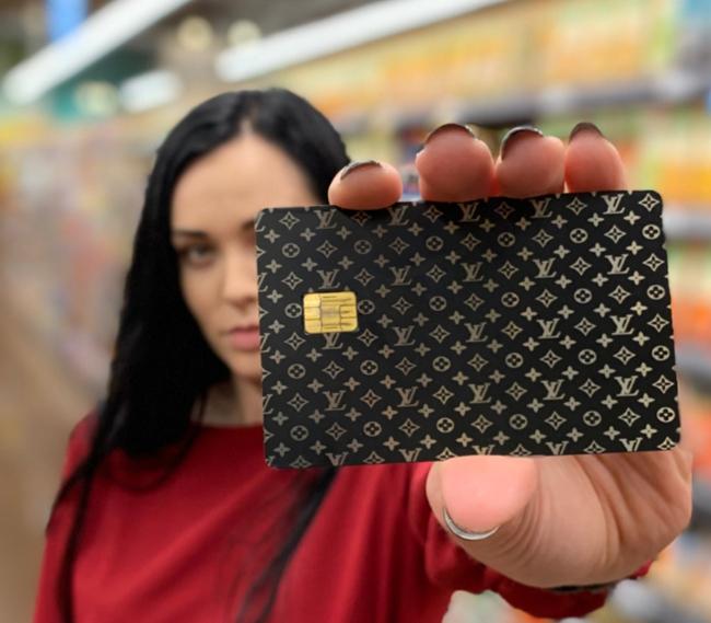 metal credit card model