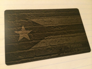Custom Black Metal Credit Card Puerto Rico
