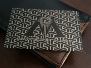 Ministry of magic custom black card