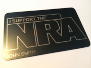 NRA Metal Black Card