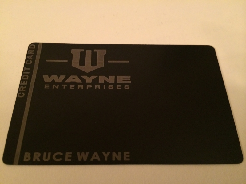 Custom Black Debit Card