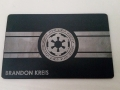 Custom Black Credit Card -Star Wars card