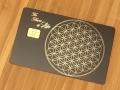 scared geometry metal card matte black v3