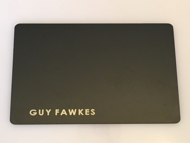 Template #3 Plain Black Card Design + Your Name