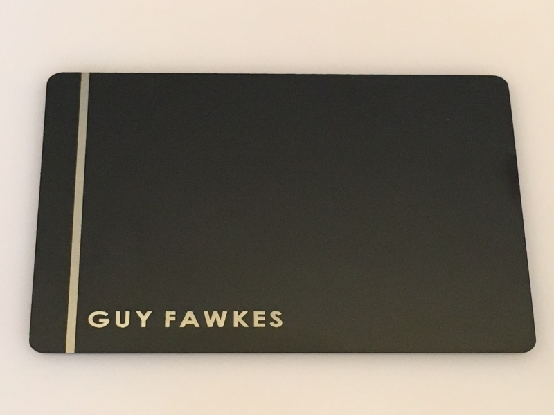 Template #3 Plain Black Card Design + Your Name w/Design Line