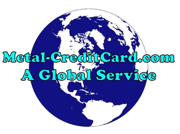 global service metal credit cards