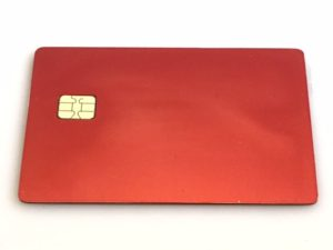 Red Metal Credit Card