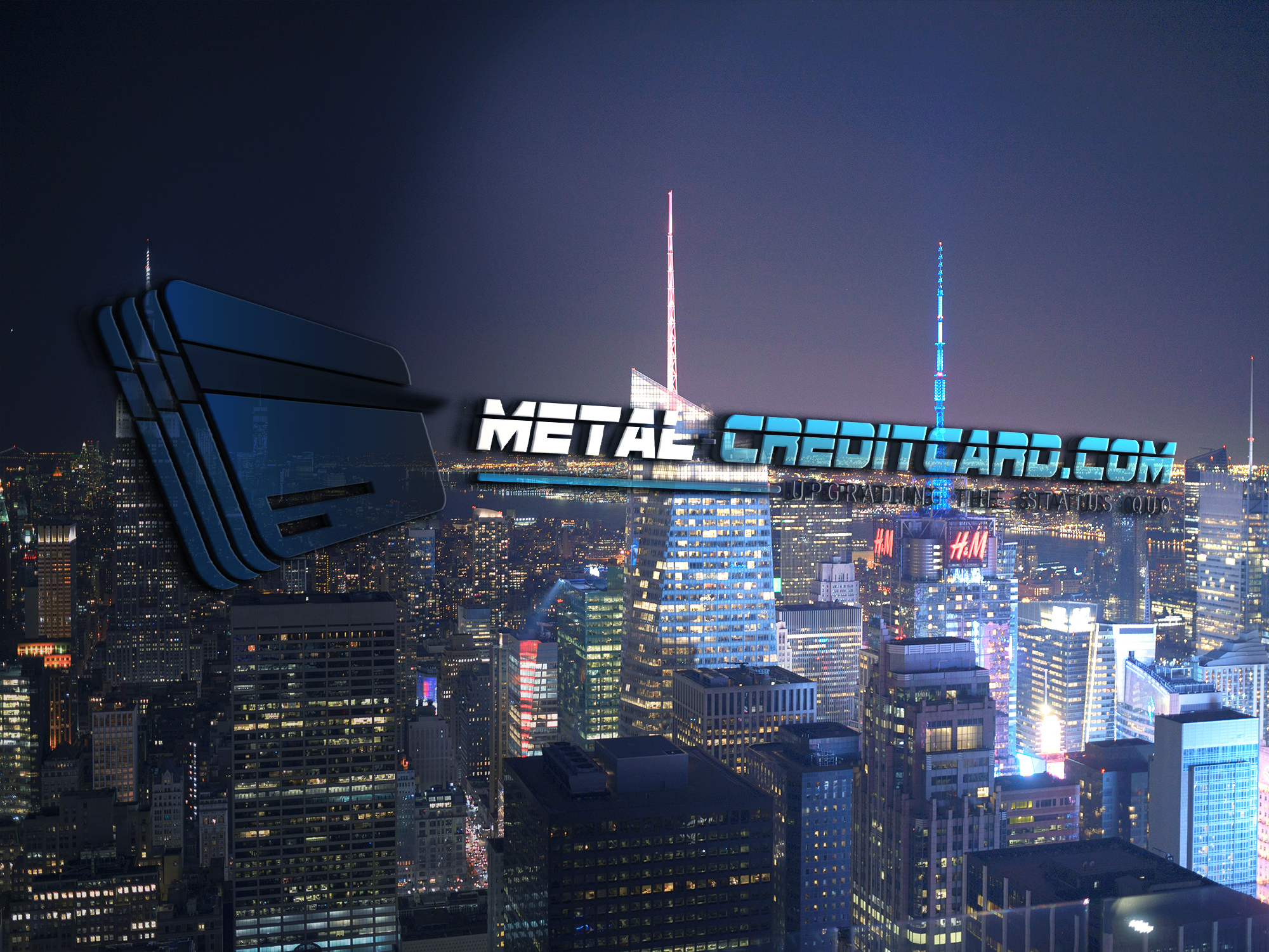 New York Metal Credit Card