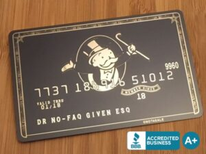 custom metal credit cards