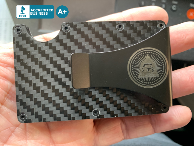 Custom Carbon Fiber Wallet