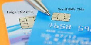 EMV CHIP SIZES