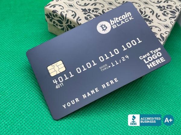 BTC Matte-Black Card
