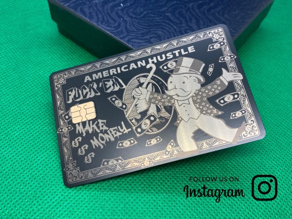 American Hustle Design (matte-black)